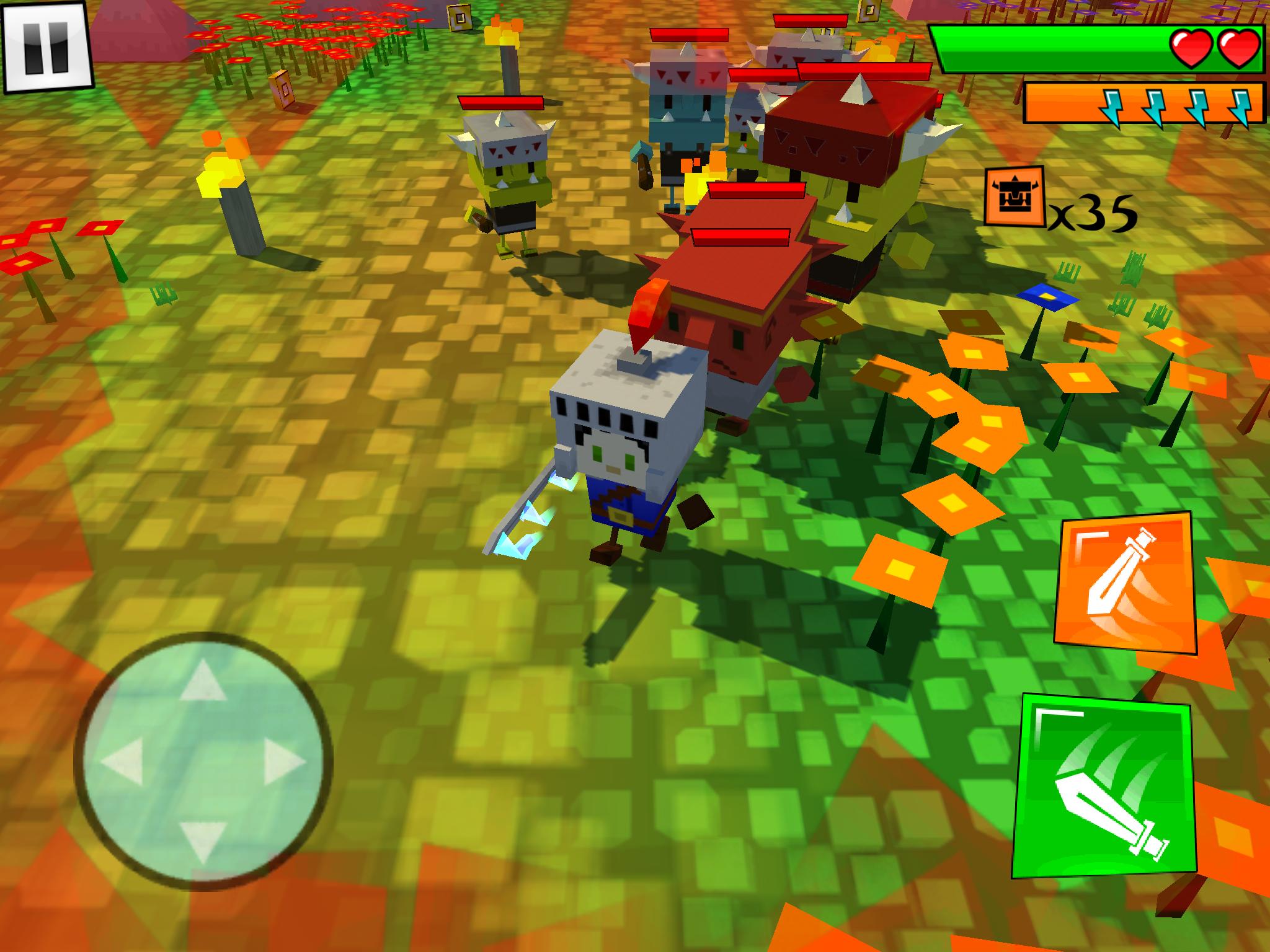 Box Warrior(ボックスの戦士) androidアプリスクリーンショット2