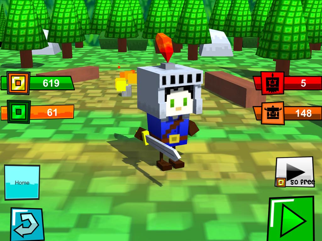 Box Warrior(ボックスの戦士) androidアプリスクリーンショット3