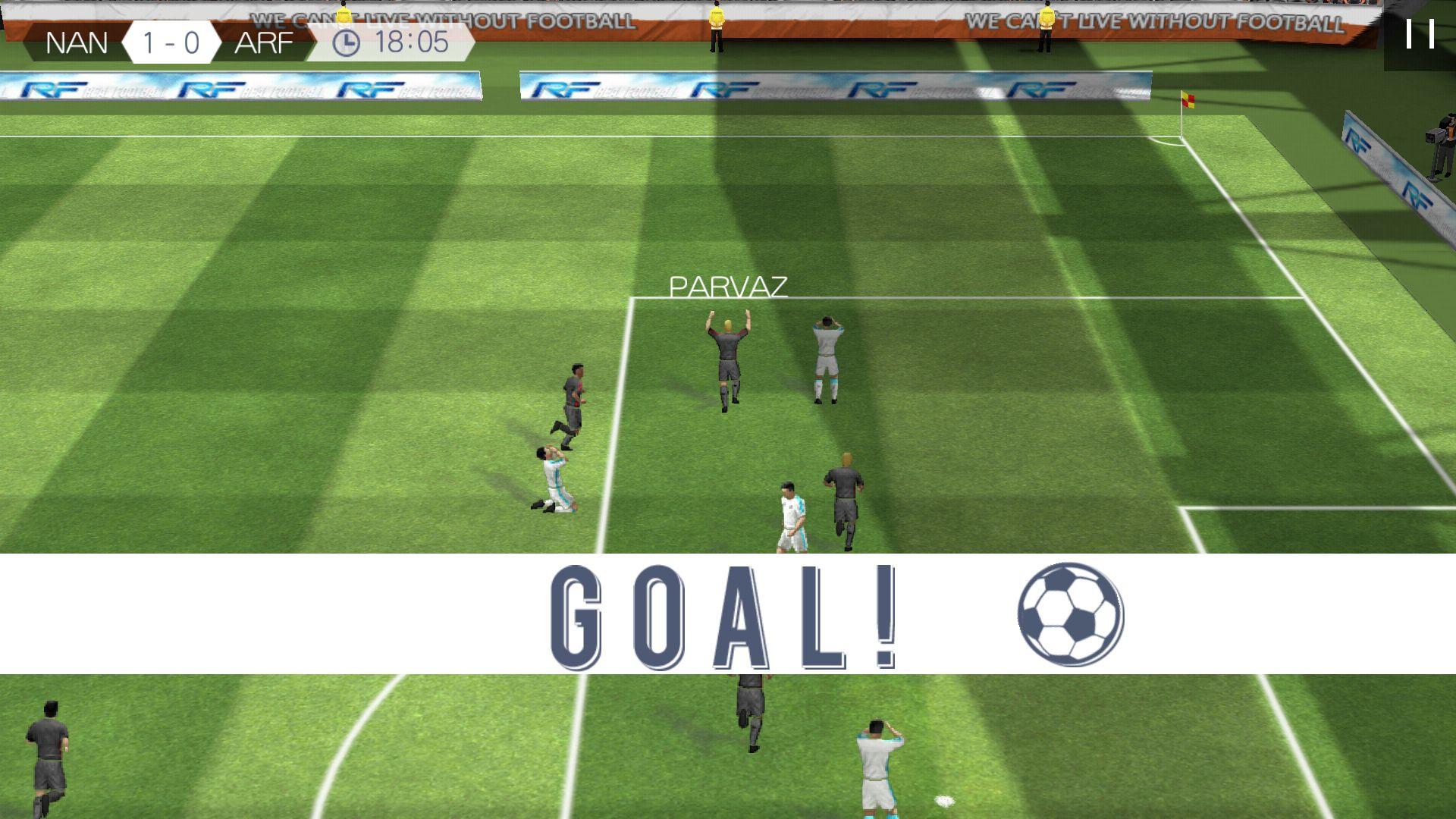 androidアプリ リアルサッカー攻略スクリーンショット3