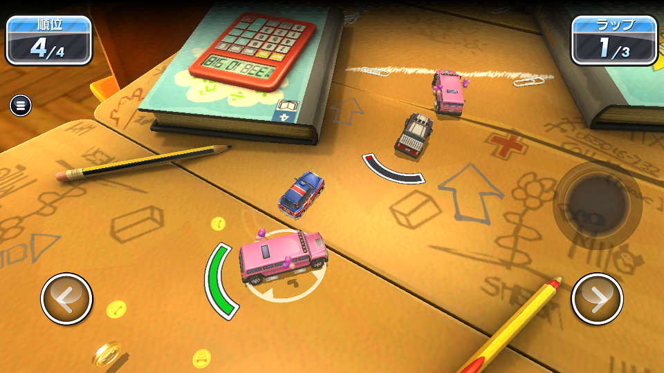 Micro Machines androidアプリスクリーンショット1