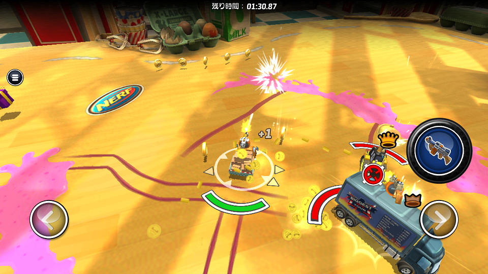 Micro Machines androidアプリスクリーンショット3
