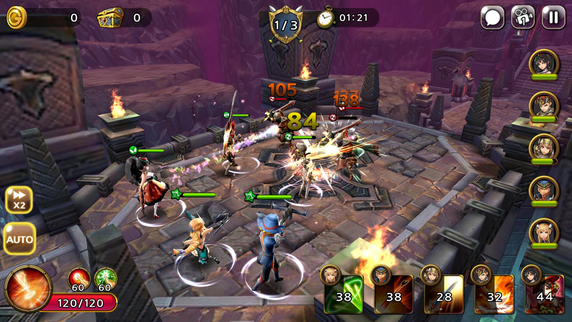 androidアプリ Guardian Soul : Legion(ガーディアンソウル)攻略スクリーンショット3