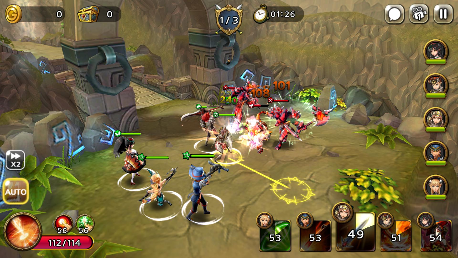 androidアプリ Guardian Soul : Legion(ガーディアンソウル)攻略スクリーンショット4