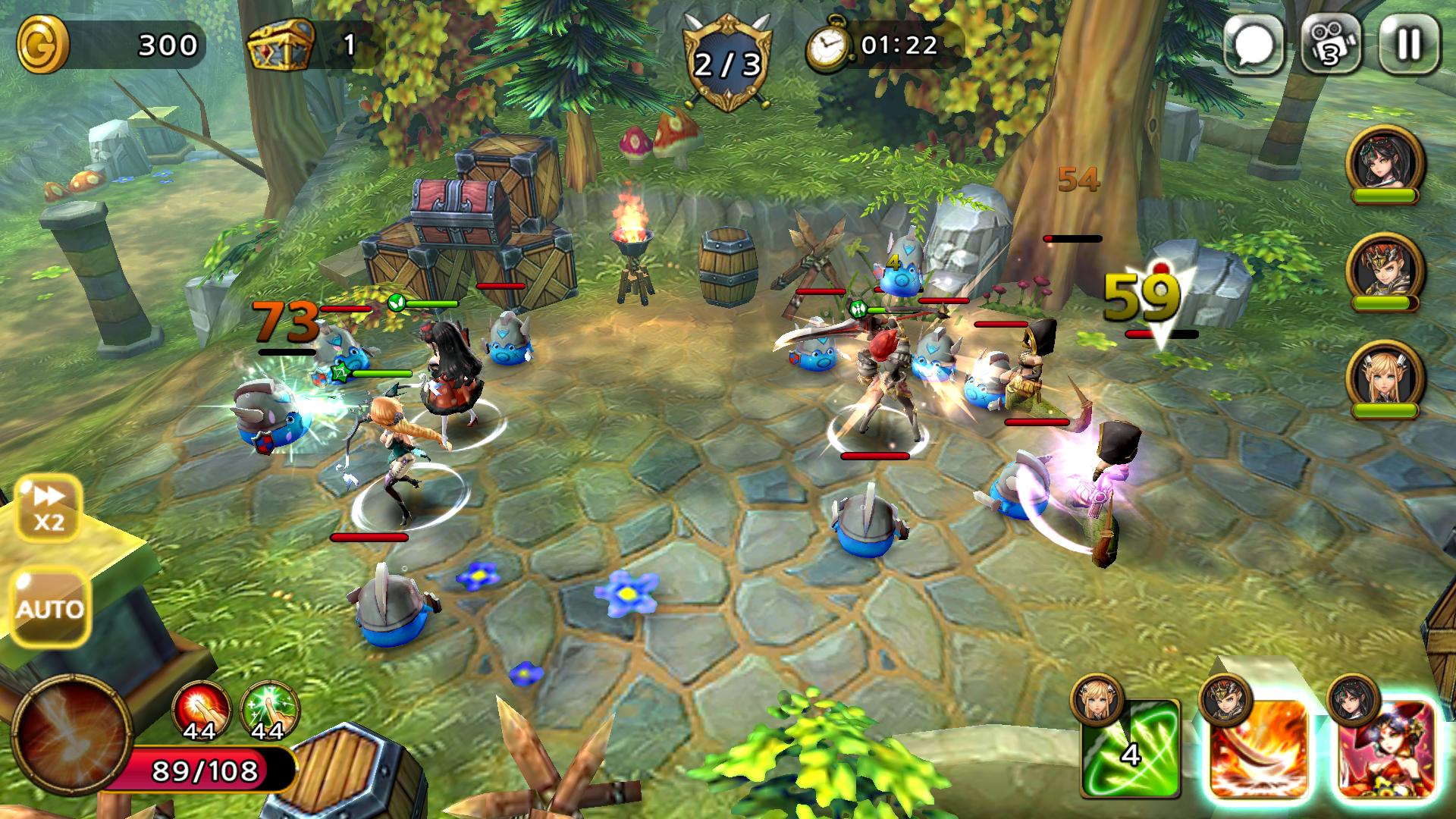 androidアプリ Guardian Soul : Legion(ガーディアンソウル)攻略スクリーンショット6