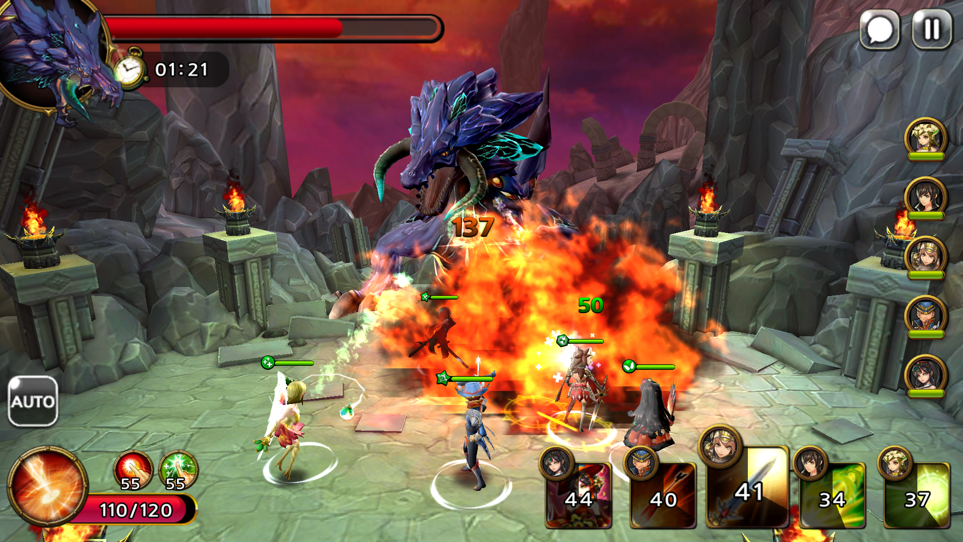Guardian Soul : Legion(ガーディアンソウル) androidアプリスクリーンショット1