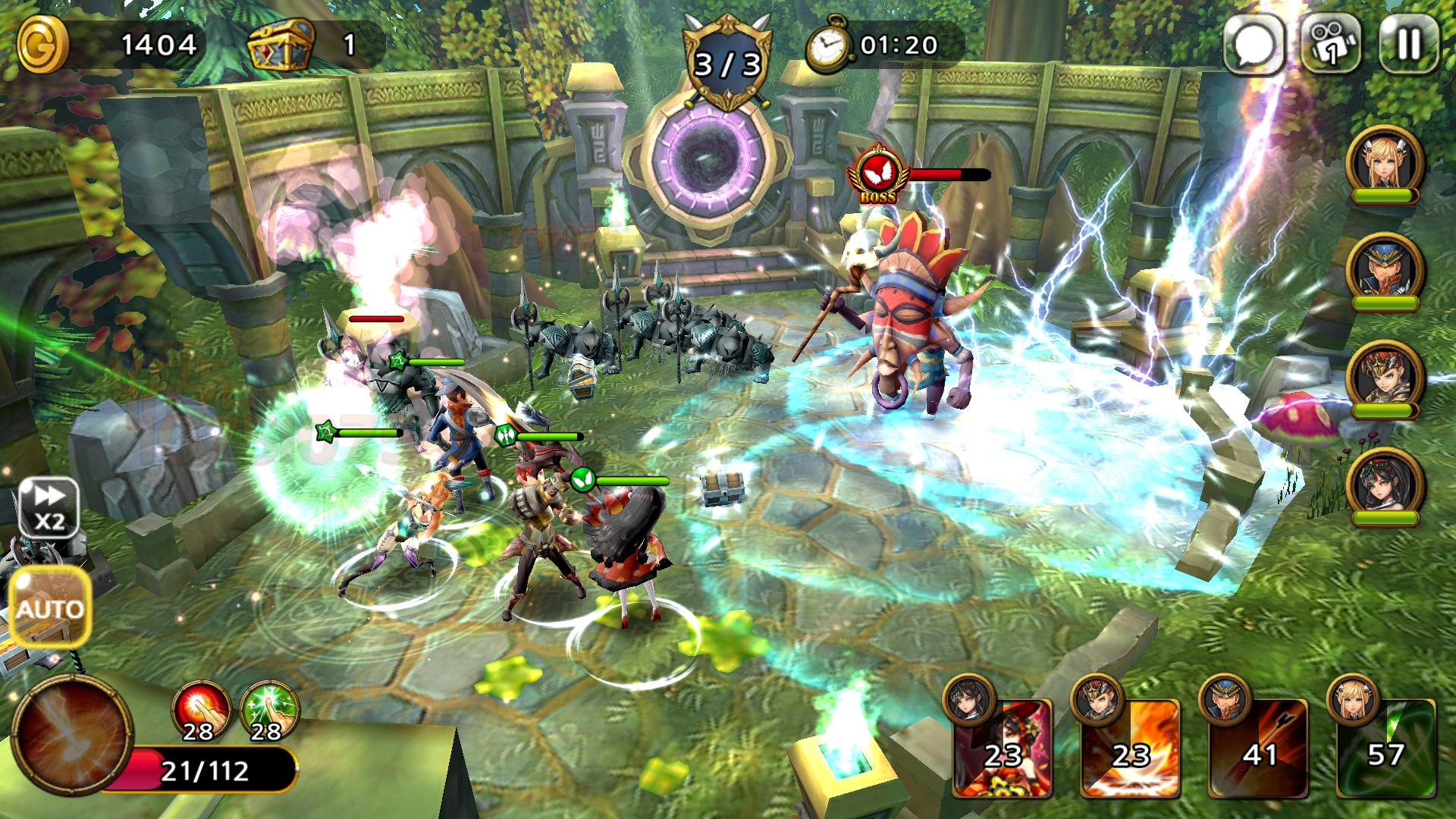 Guardian Soul : Legion(ガーディアンソウル) androidアプリスクリーンショット2