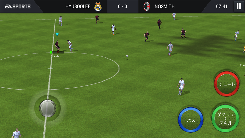 androidアプリ FIFA Mobile サッカー(Soccer)攻略スクリーンショット4