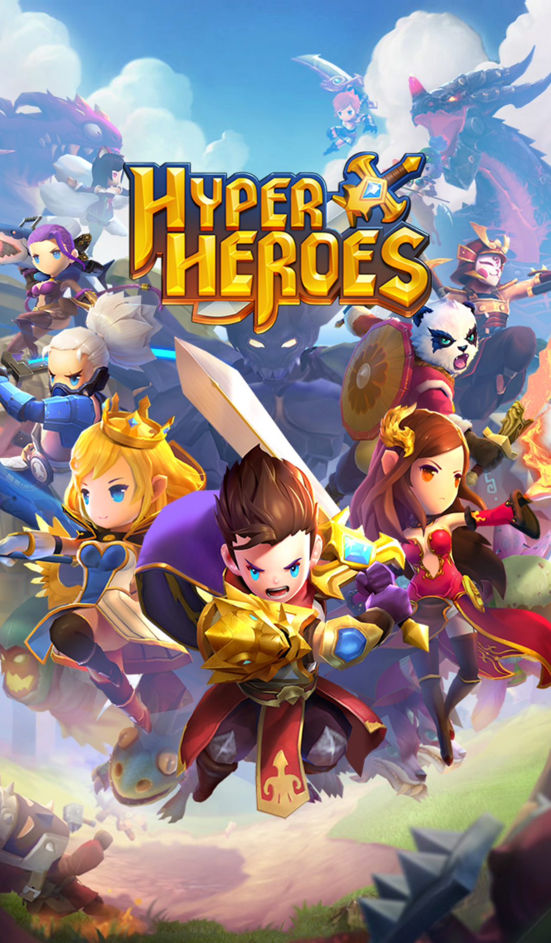 androidアプリ Hyper Heroes(ハイパーヒーローズ)攻略スクリーンショット1