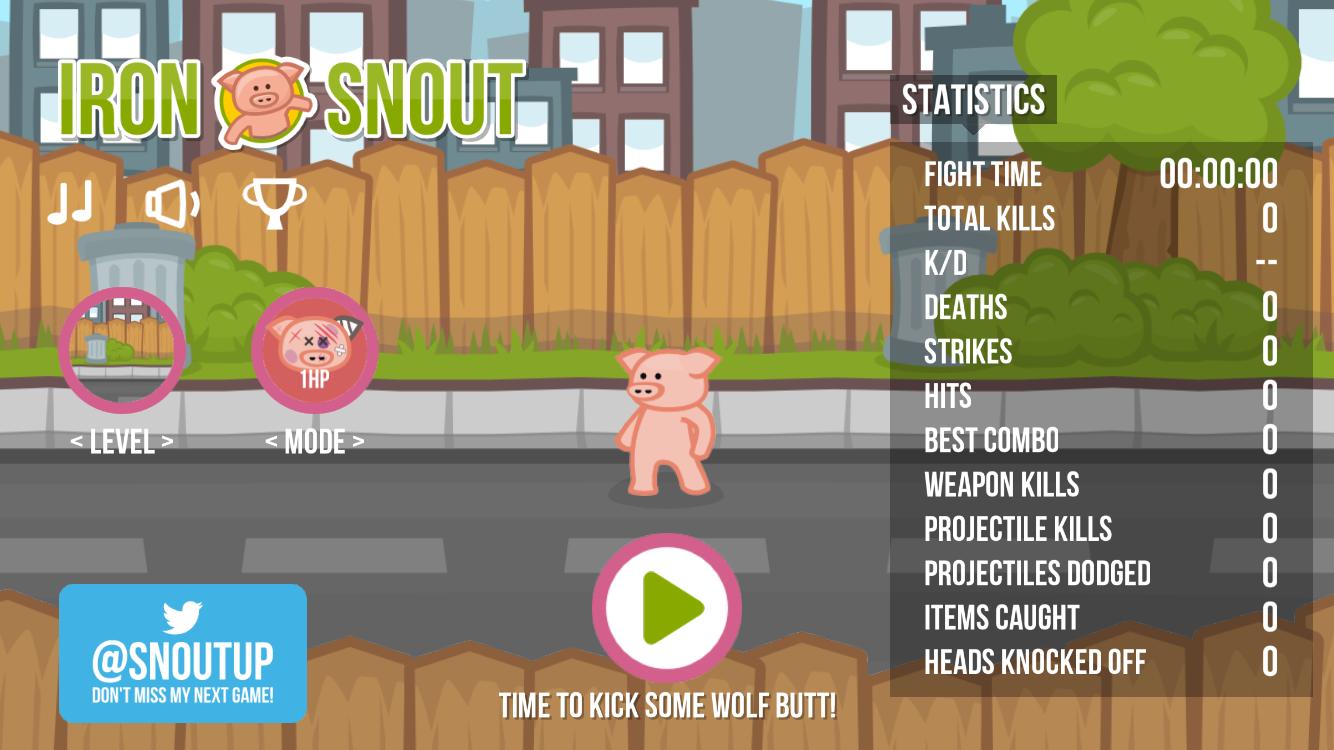androidアプリ Iron Snout+(アイアン・シャウト)攻略スクリーンショット1