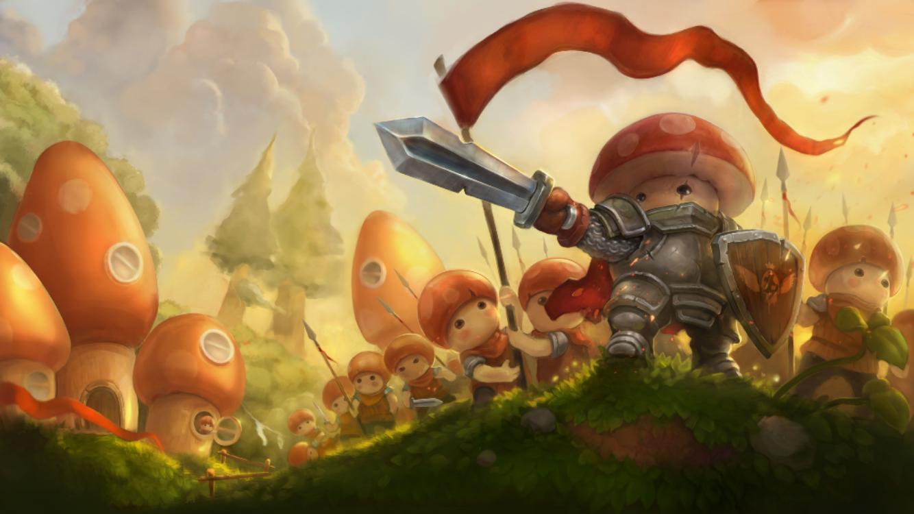 androidアプリ Mushroom Wars 2攻略スクリーンショット1