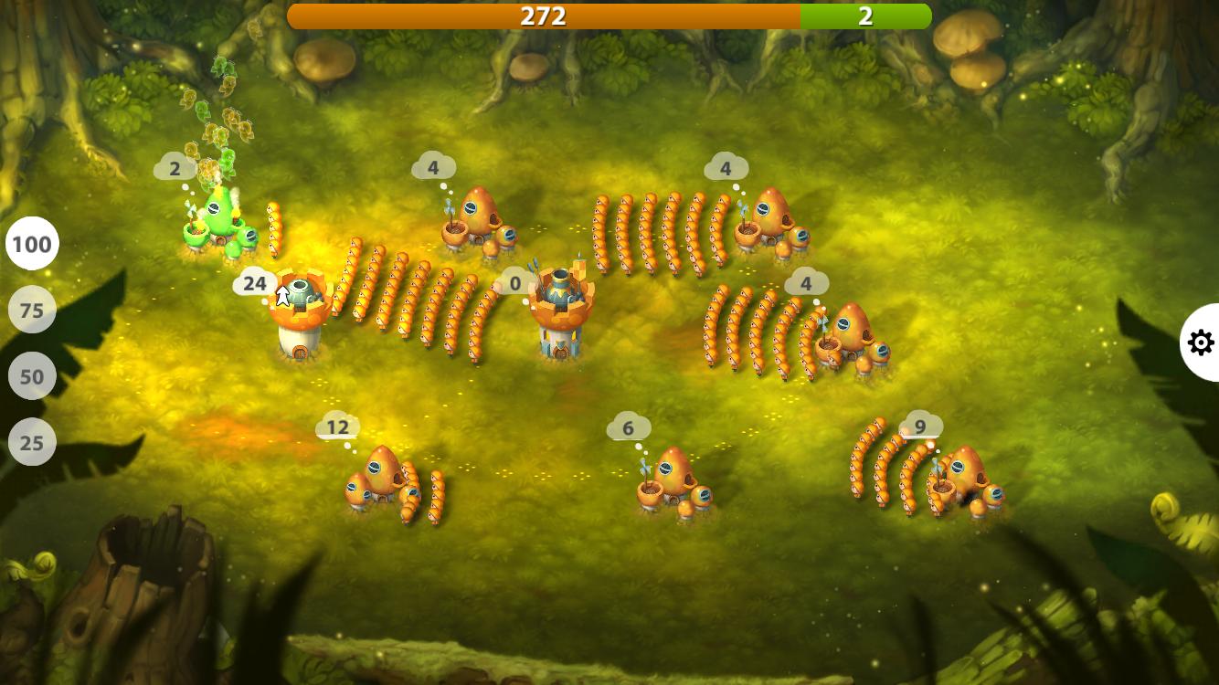 Mushroom Wars 2 androidアプリスクリーンショット1