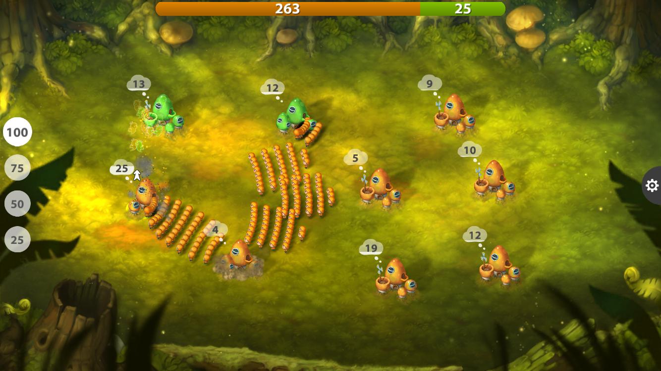 Mushroom Wars 2 androidアプリスクリーンショット3