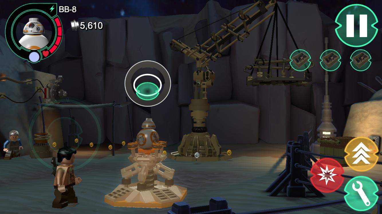 androidアプリ LEGO® Star Wars™: TFA(スター・ウォーズ フォースの覚醒)攻略スクリーンショット5