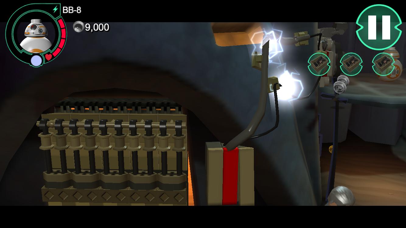androidアプリ LEGO® Star Wars™: TFA(スター・ウォーズ フォースの覚醒)攻略スクリーンショット7