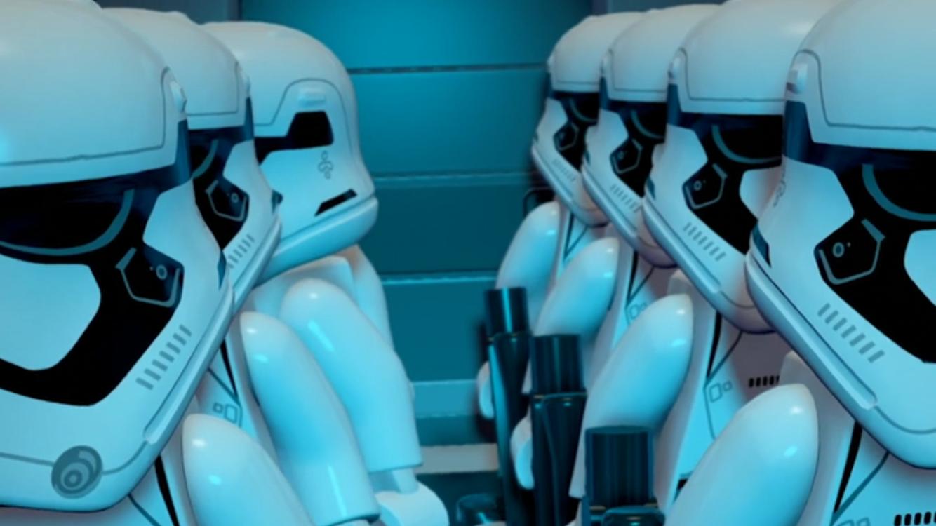 LEGO® Star Wars™: TFA(スター・ウォーズ フォースの覚醒) androidアプリスクリーンショット1