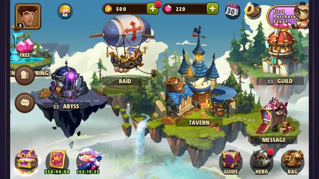 androidアプリ Avengers Battle:Hero Saga攻略スクリーンショット3