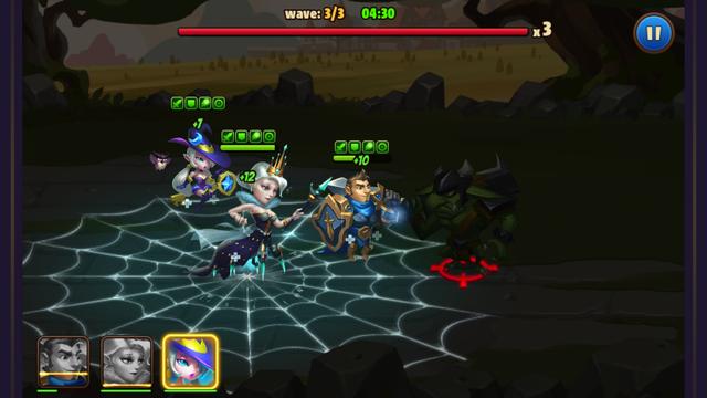 Avengers Battle:Hero Saga androidアプリスクリーンショット1