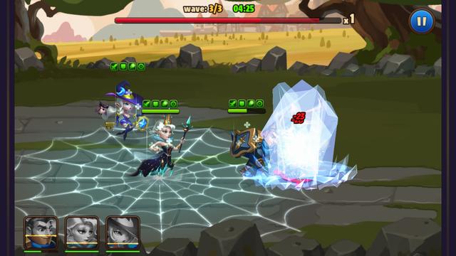 Avengers Battle:Hero Saga androidアプリスクリーンショット3