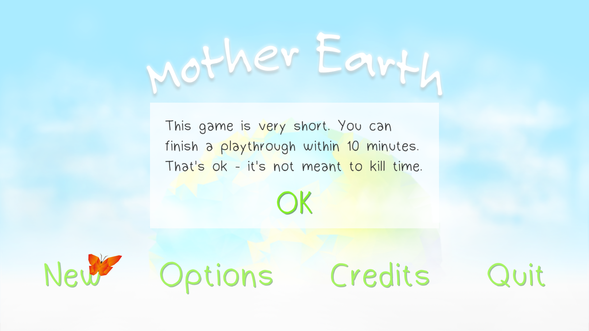 androidアプリ Mother Earth攻略スクリーンショット1