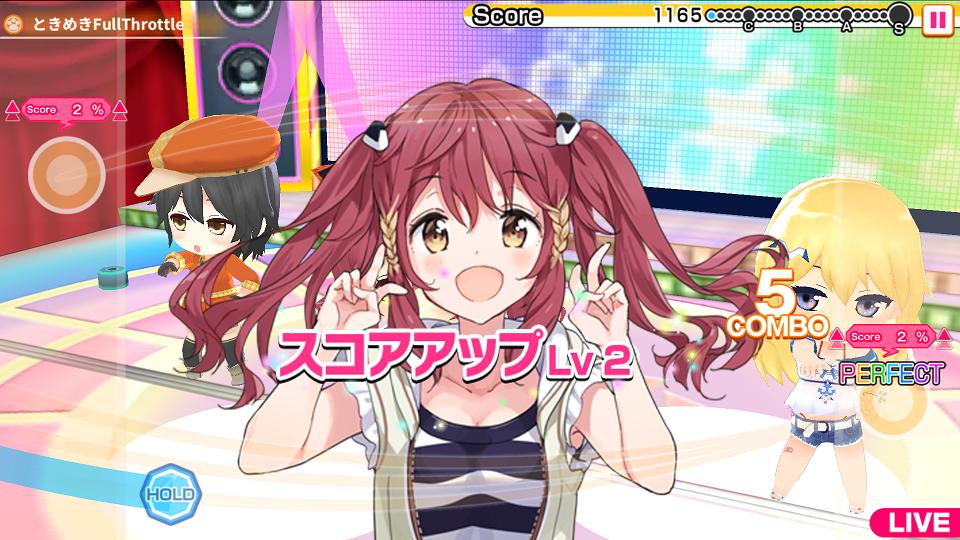 アイドル事変 androidアプリスクリーンショット1