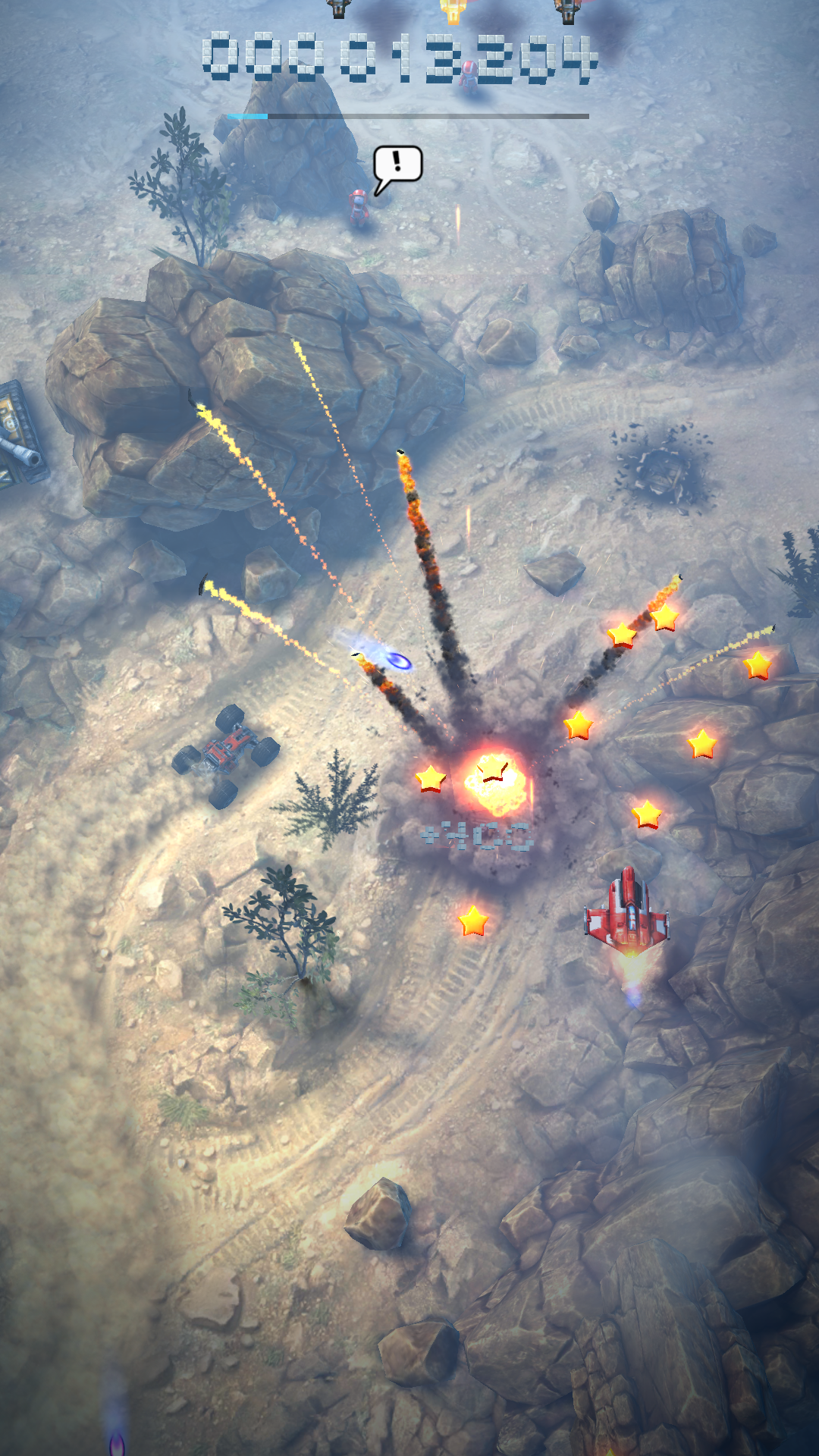 androidアプリ Sky Force Reloaded(スカイフォース リローデッド)攻略スクリーンショット4