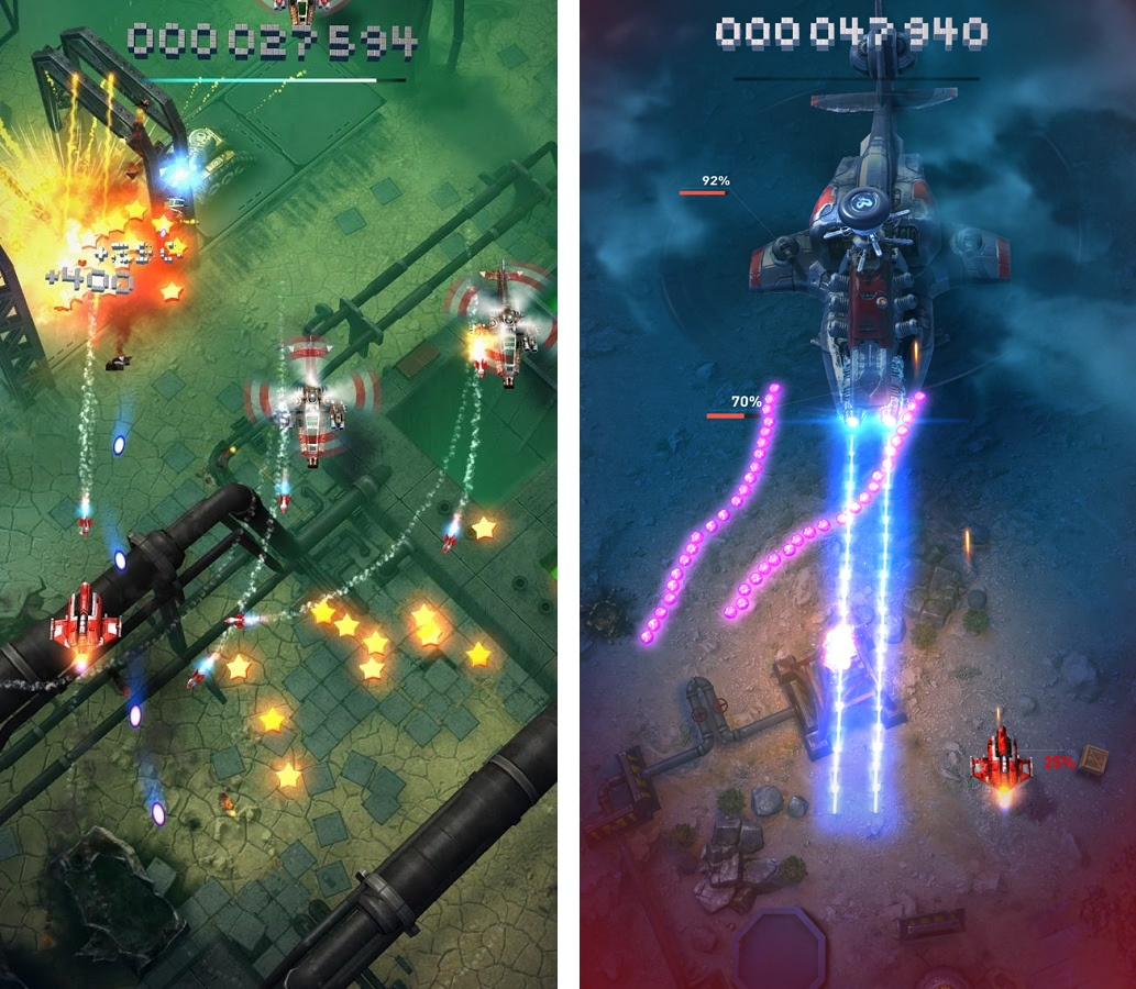 Sky Force Reloaded(スカイフォース リローデッド) androidアプリスクリーンショット2