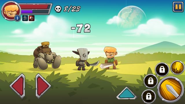 androidアプリ Legendary Warrior攻略スクリーンショット3