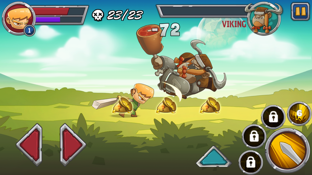 androidアプリ Legendary Warrior攻略スクリーンショット4