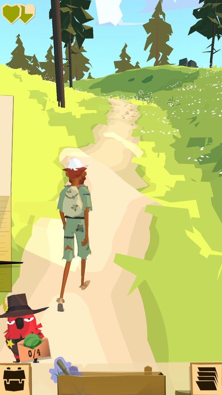 androidアプリ ザ トレイル(The Trail)攻略スクリーンショット1