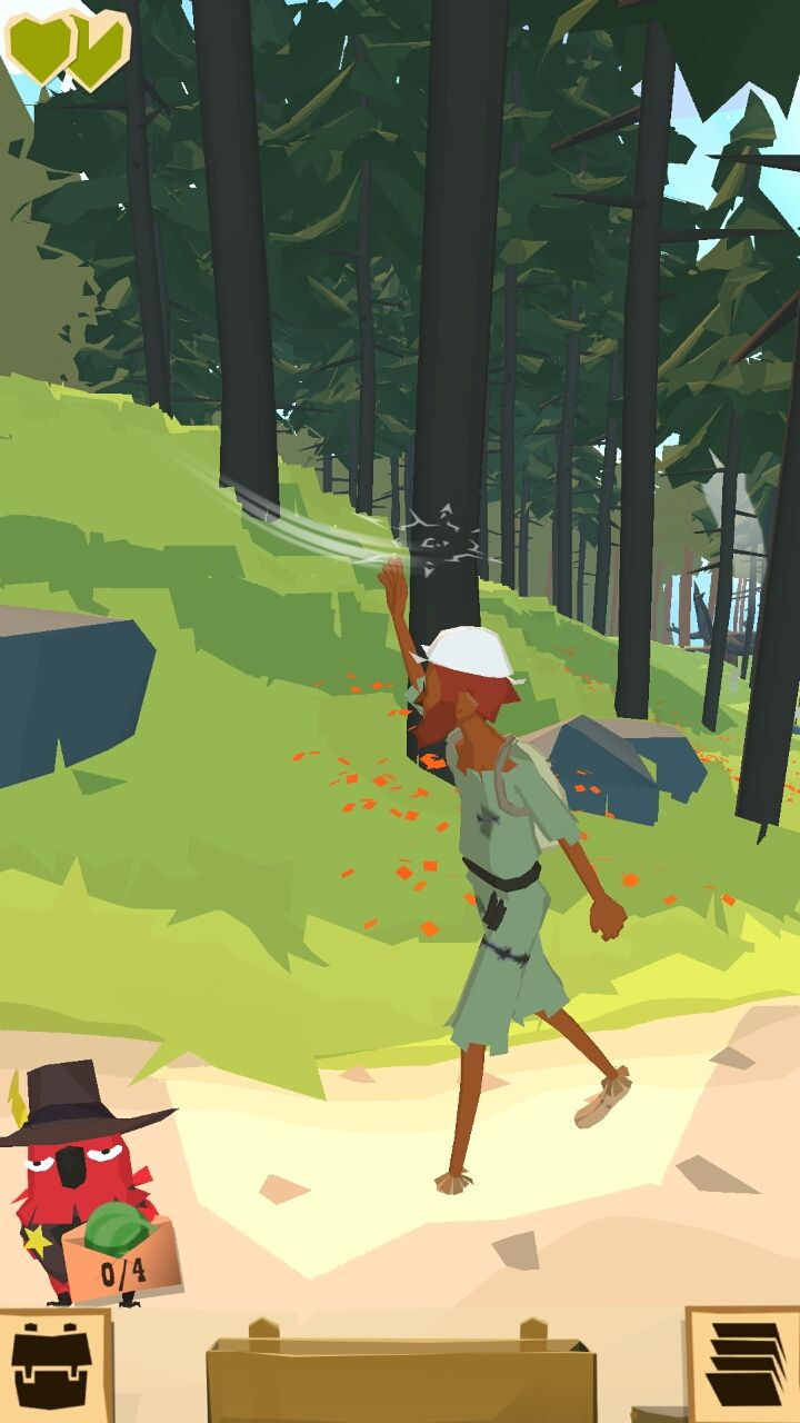androidアプリ ザ トレイル(The Trail)攻略スクリーンショット2