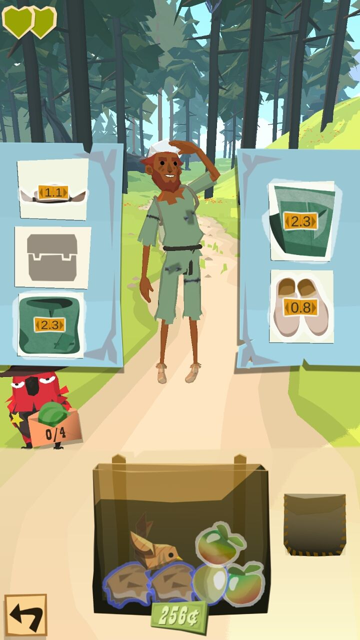 androidアプリ ザ トレイル(The Trail)攻略スクリーンショット4