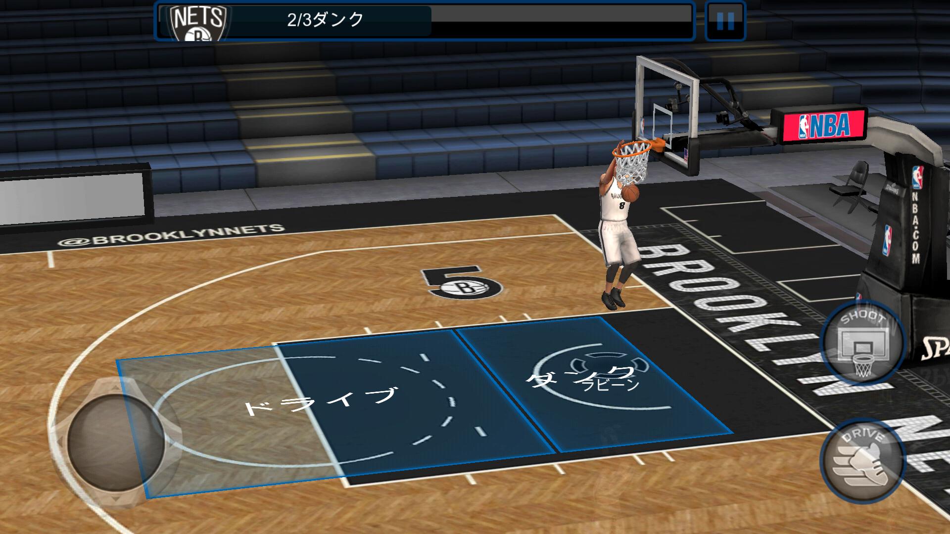 androidアプリ NBA LIVE Mobile:バスケットボール攻略スクリーンショット2