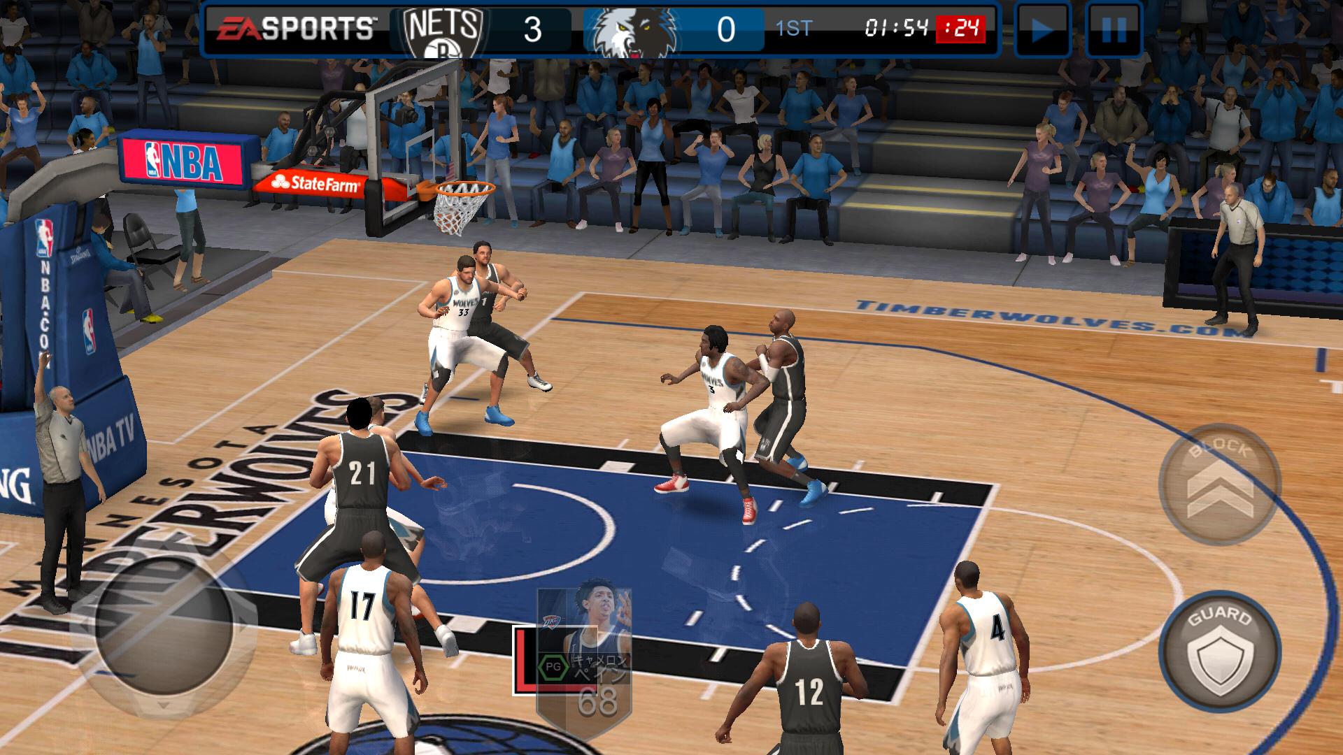 androidアプリ NBA LIVE Mobile:バスケットボール攻略スクリーンショット4