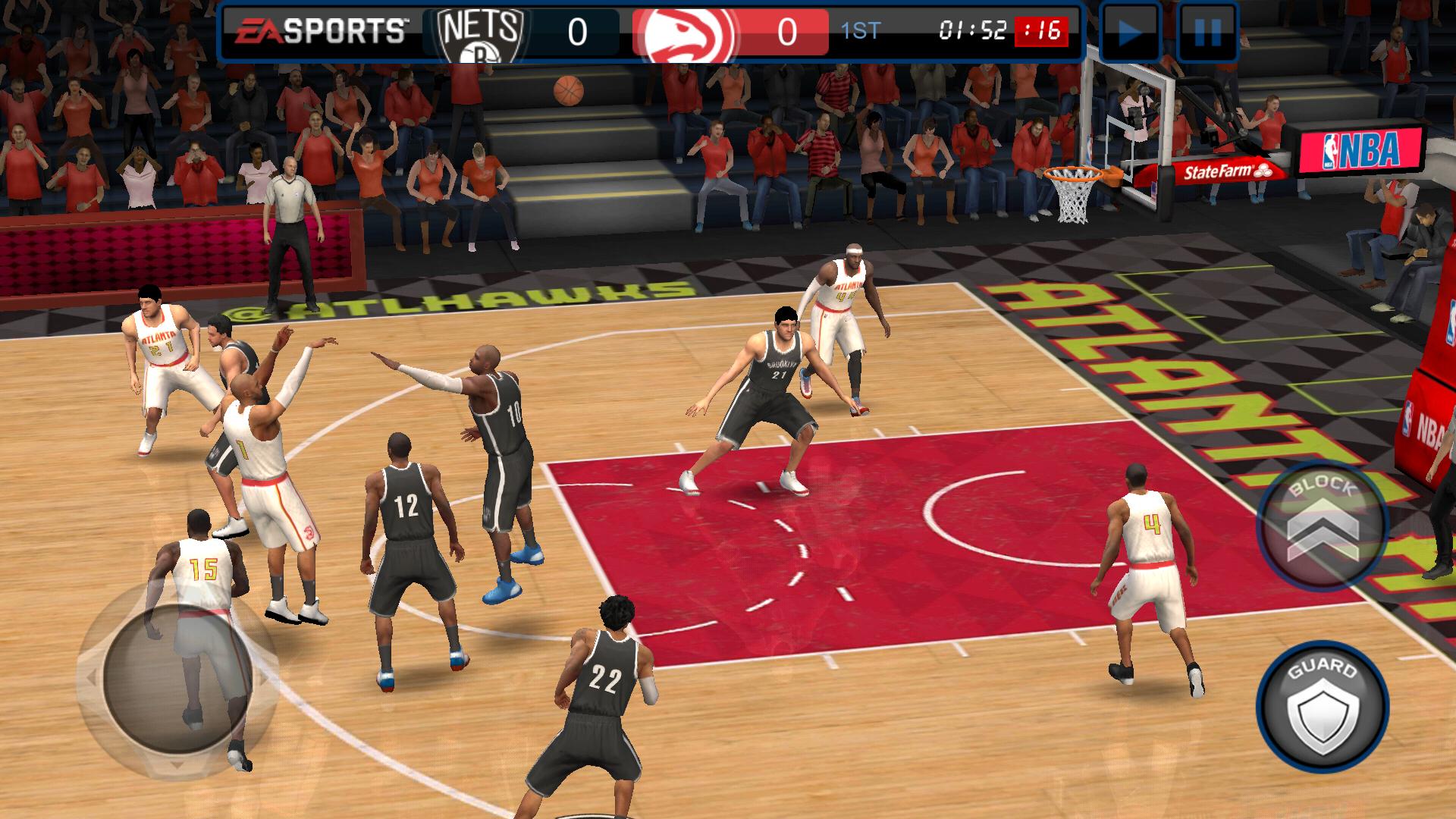NBA LIVE Mobile:バスケットボール androidアプリスクリーンショット1