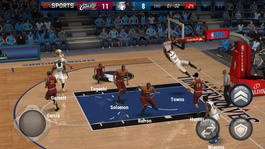 NBA LIVE Mobile:バスケットボール androidアプリスクリーンショット2