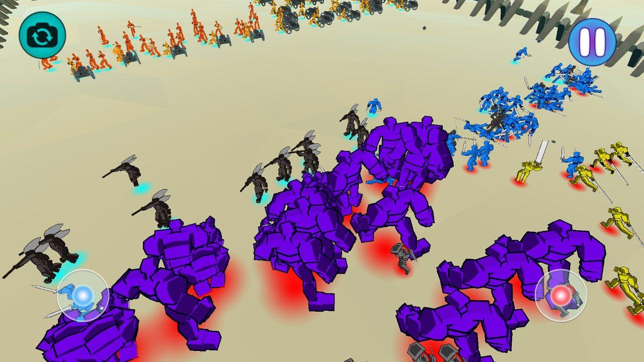 エピックバトルシミュレーター(Epic Battle Simulator) androidアプリスクリーンショット1
