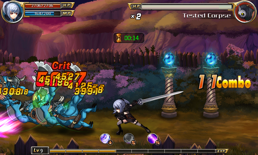 Sword of Soul 2 androidアプリスクリーンショット1