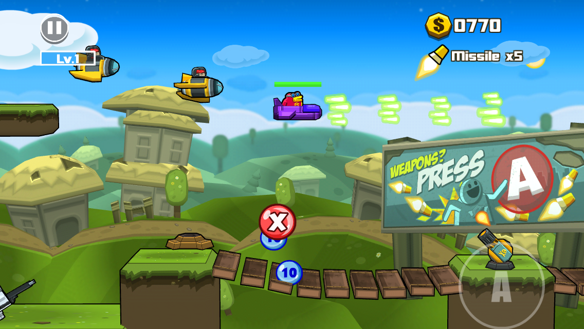 androidアプリ Toon Shooters 2: The Freelancers攻略スクリーンショット2