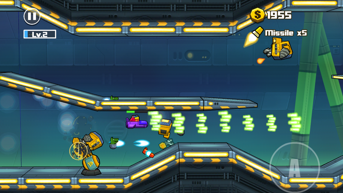 androidアプリ Toon Shooters 2: The Freelancers攻略スクリーンショット3