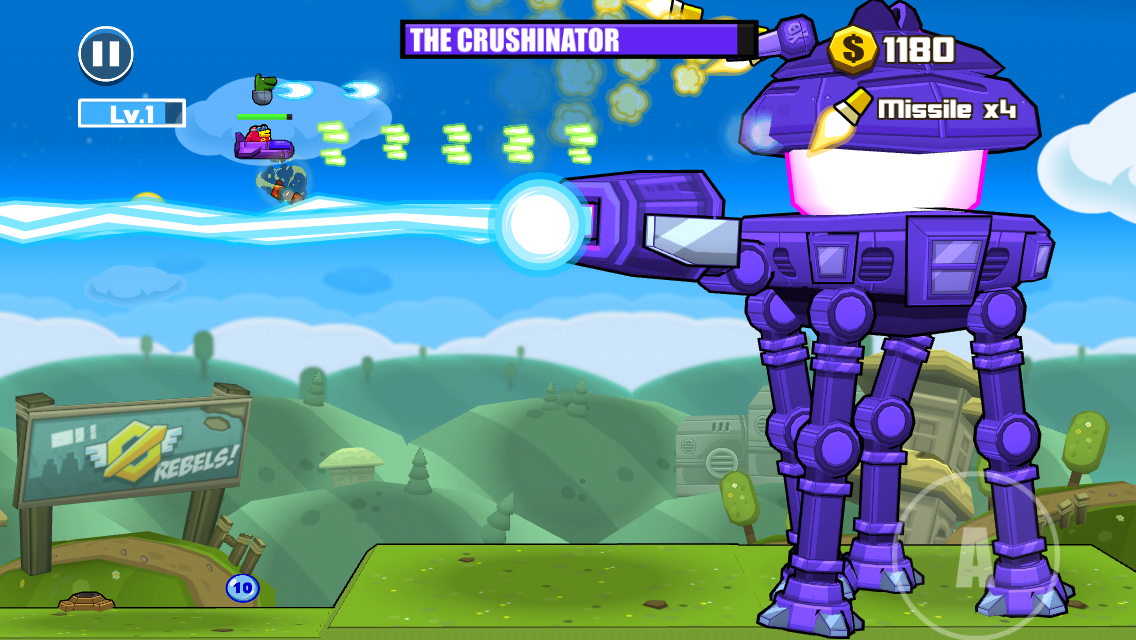 androidアプリ Toon Shooters 2: The Freelancers攻略スクリーンショット4