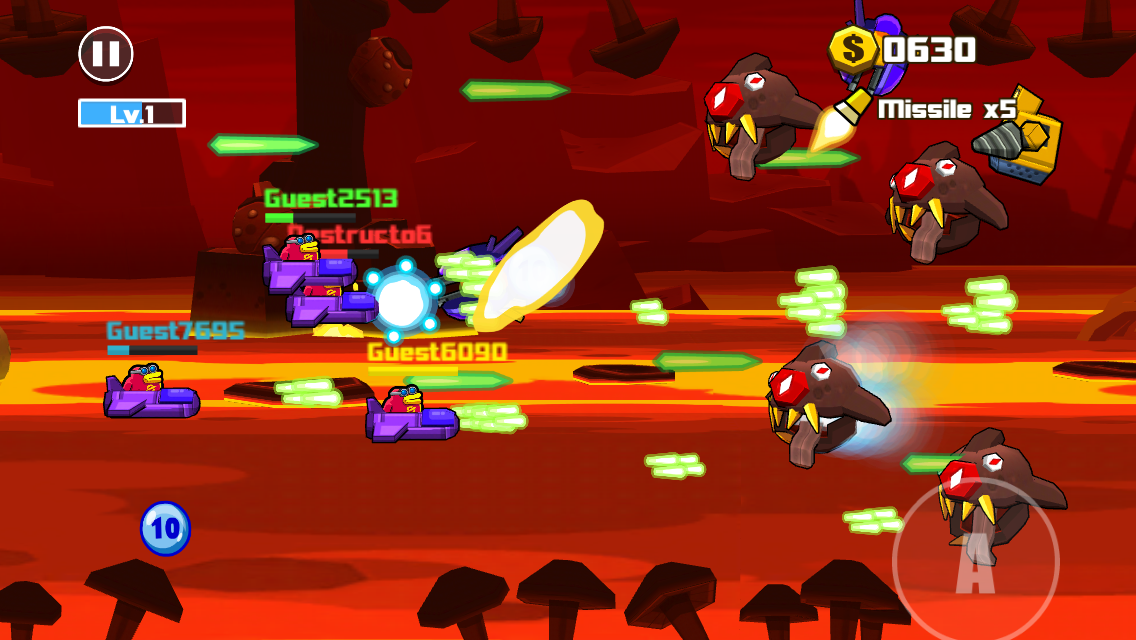 androidアプリ Toon Shooters 2: The Freelancers攻略スクリーンショット8