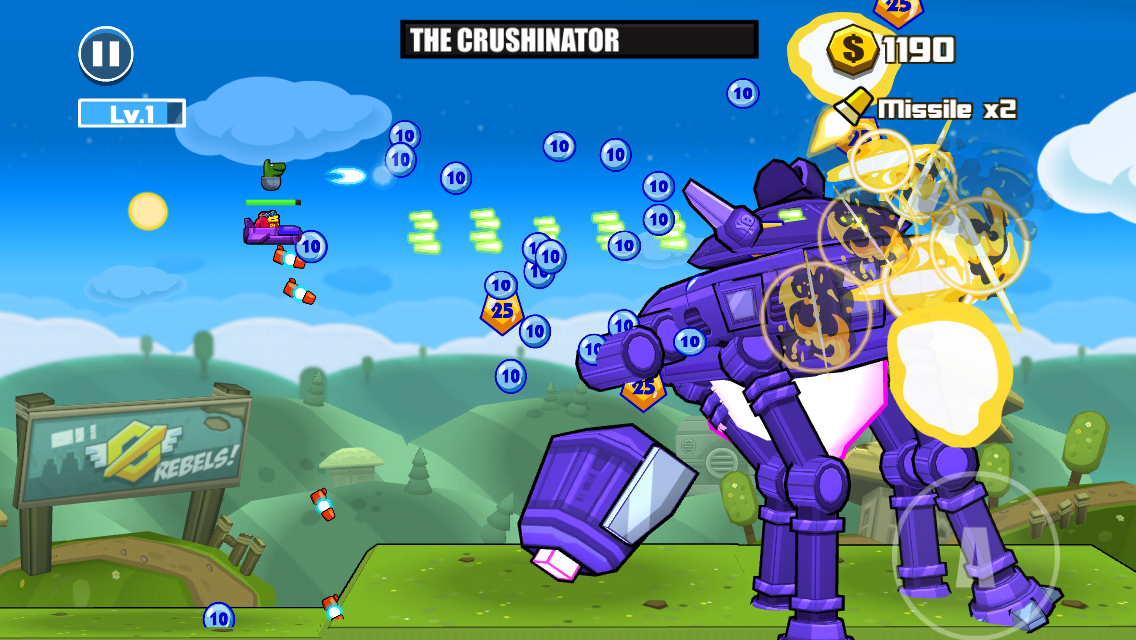 Toon Shooters 2: The Freelancers androidアプリスクリーンショット1