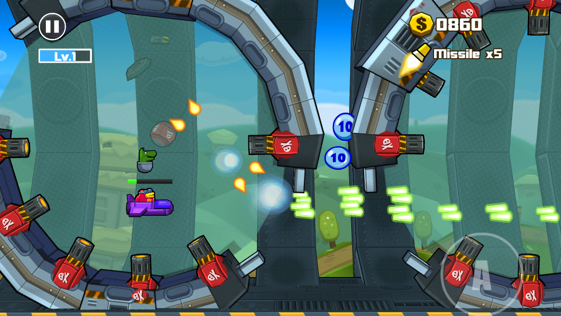 Toon Shooters 2: The Freelancers androidアプリスクリーンショット2