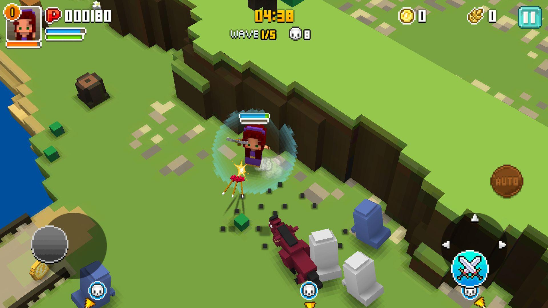キューブナイト(Cube Knight: Battle of Camelot) androidアプリスクリーンショット1