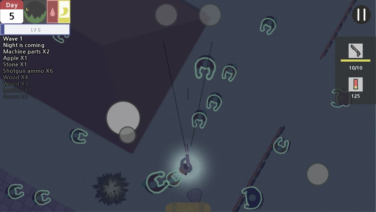 デッドタウン(Dead Town - Zombie survival) androidアプリスクリーンショット1