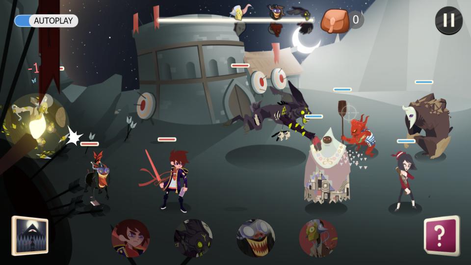 怪物の山(Monster Mountain) androidアプリスクリーンショット1