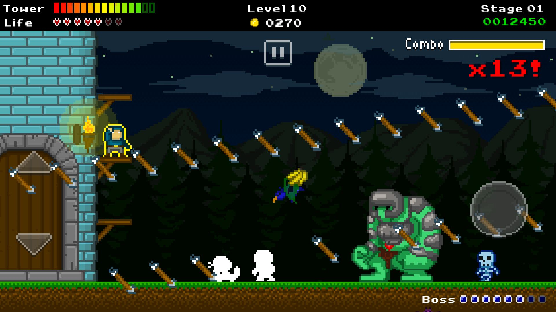 Warcher Defenders androidアプリスクリーンショット1