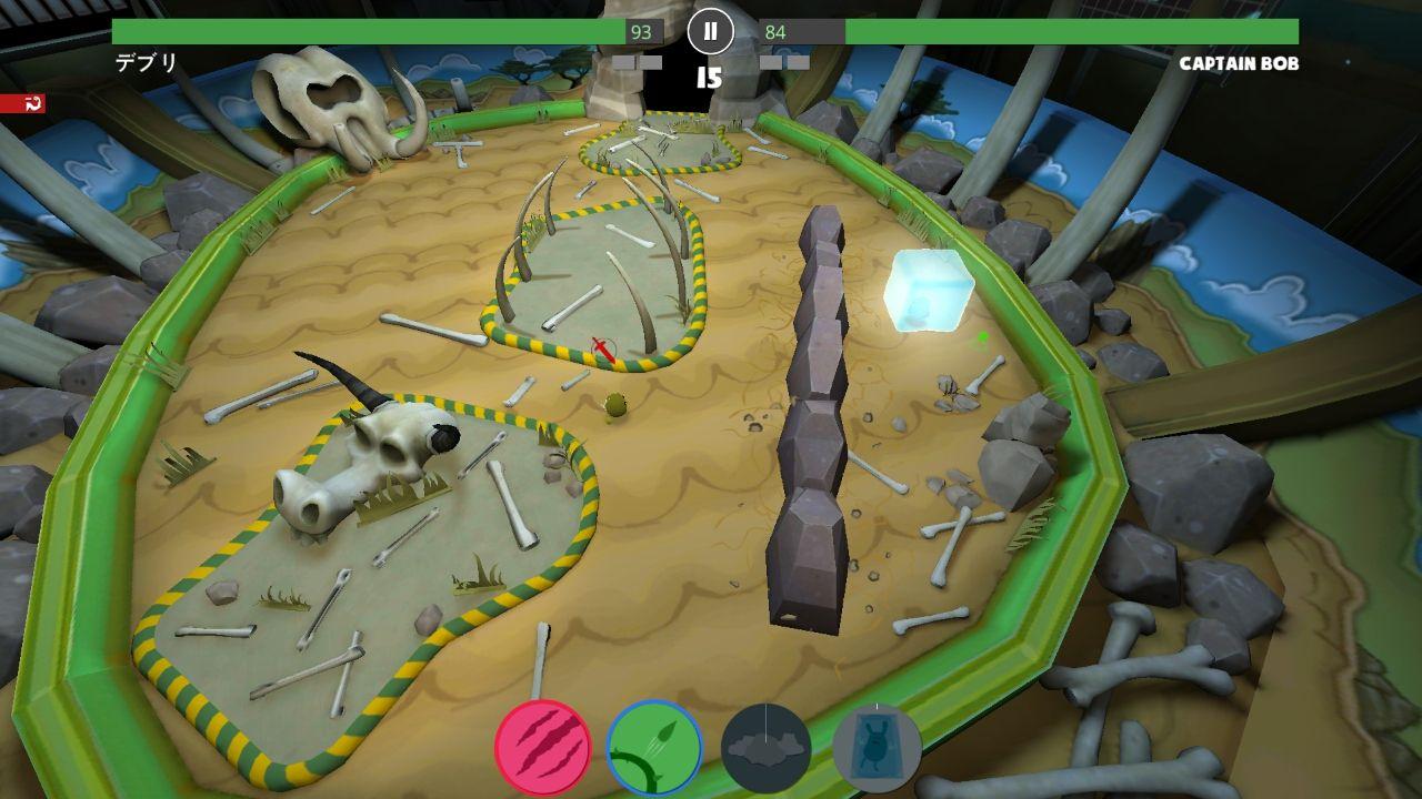 クリーチャーバトルラボ(Creature Battle Lab) androidアプリスクリーンショット1
