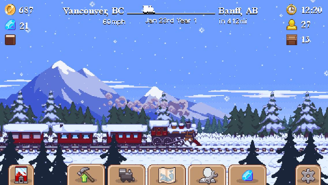 Tiny Rails(タイニー・レール) androidアプリスクリーンショット1