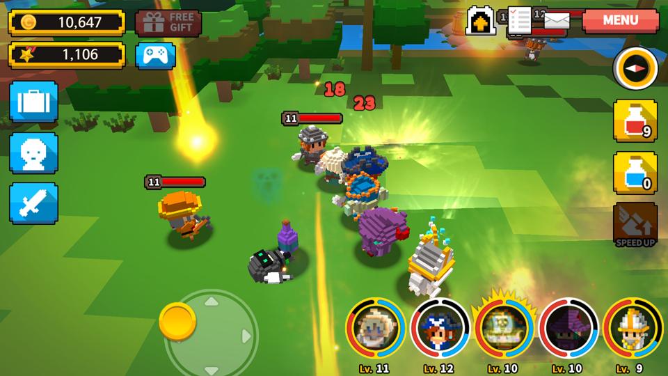 ChooChoo Heroes(チューチュー・ヒーローズ) androidアプリスクリーンショット1